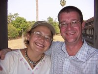 Shack and Andy - Angkor Wat