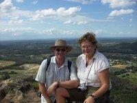 Atop Mt Ngungun
