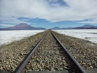The Calama - Uyuni railway line