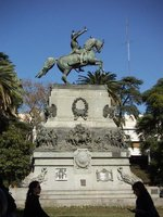 Monument, Plaza San Martin, Cordoba
