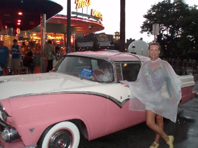 pink car Florida