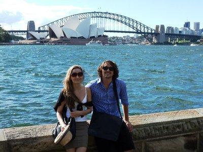 Nick & me in Sydney