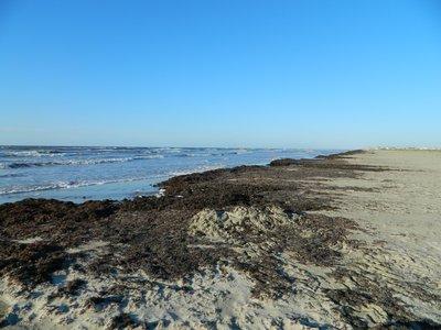 romantisch wakker worden op het strand