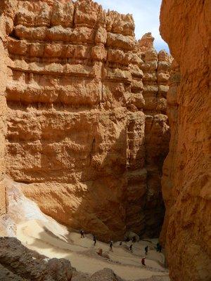lekker klimmen @ bryce canyon