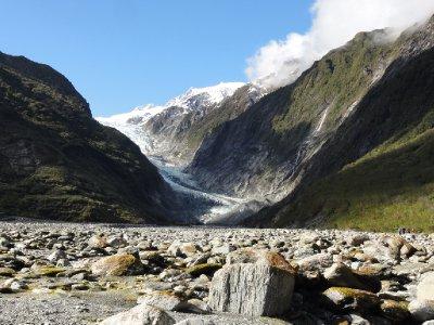 Franz Joseph glacier valley