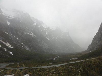 misty cleddau valley