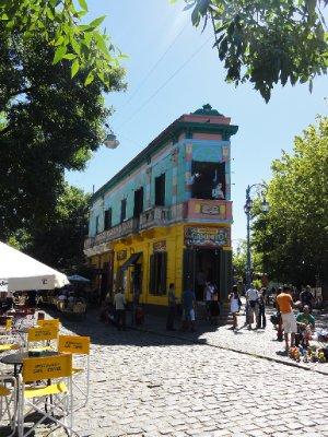 Camanito, Boca