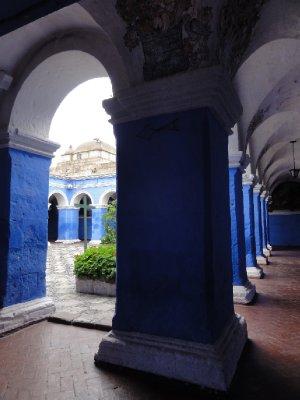 blue cloister