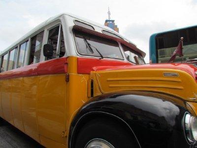 Malta bus up close