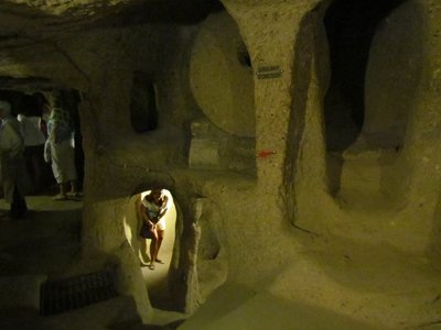 The Underground City at Kaymakli