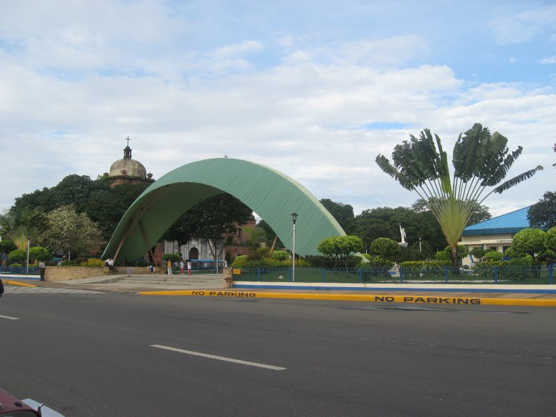cabatuan town plaza, cabatuan, iloilo, philippines