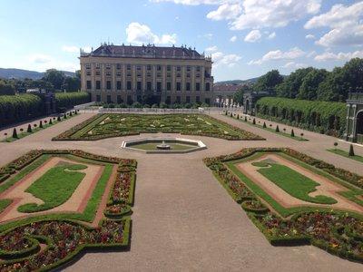 Schonbrunn view