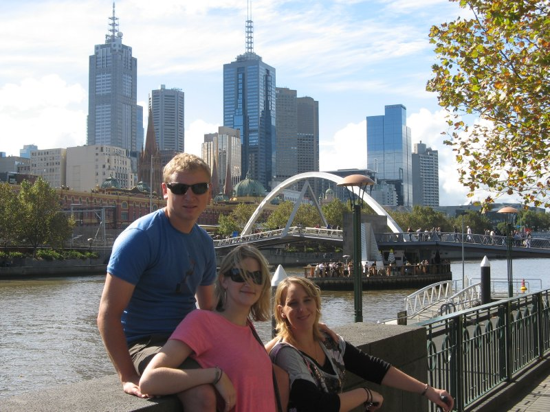 Us with Lis in Melbourne