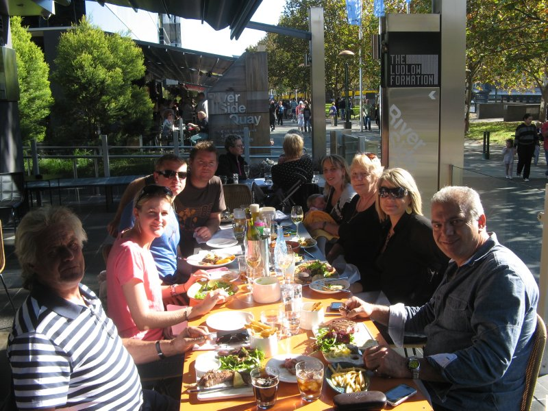 Lunch with the Griffiths clan