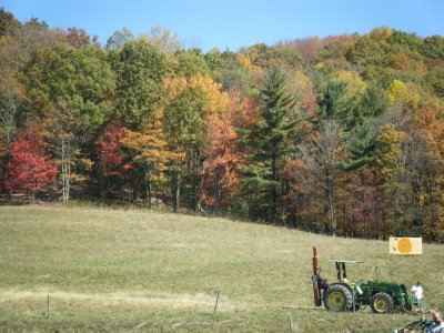 Fall Day near Bekeley, West Virginia