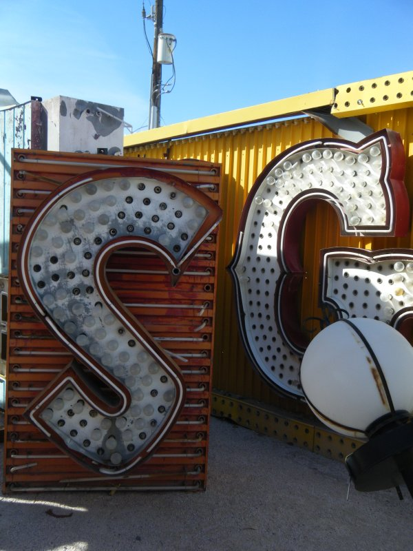 Neon Boneyard, Las Vegas