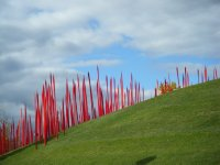 Chihuly Glass Exhibit and Clouds