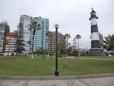 Lima - Landscaped gardens in Miraflores