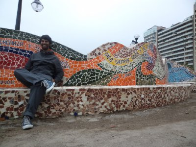 Lima - Mosaic-bench in Miraflores (3)