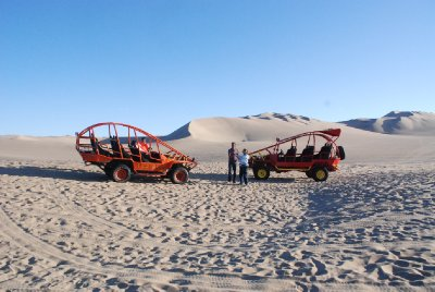 Huacachina - Dune buggies