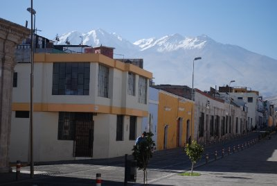 Arequipa - Mountain backdrop