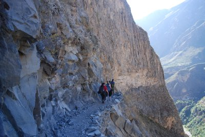 Colca Canyon - Trek path
