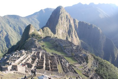 Machu Picchu - View from Caretaker's Hut (2)