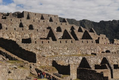 Inca architecture at Machu Picchu