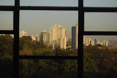 Sao Paulo - View from MAC USP