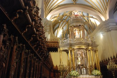 Lima - Interior of La Catedral de Lima (3)