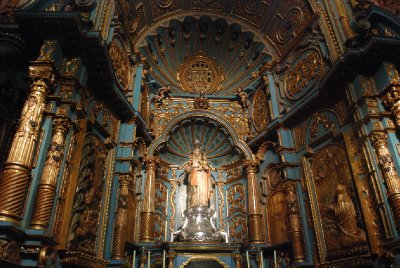 Lima - Interior of La Catedral de Lima (2)