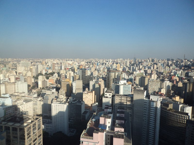 Sao Paulo - View from Edifico Italiano building (2)
