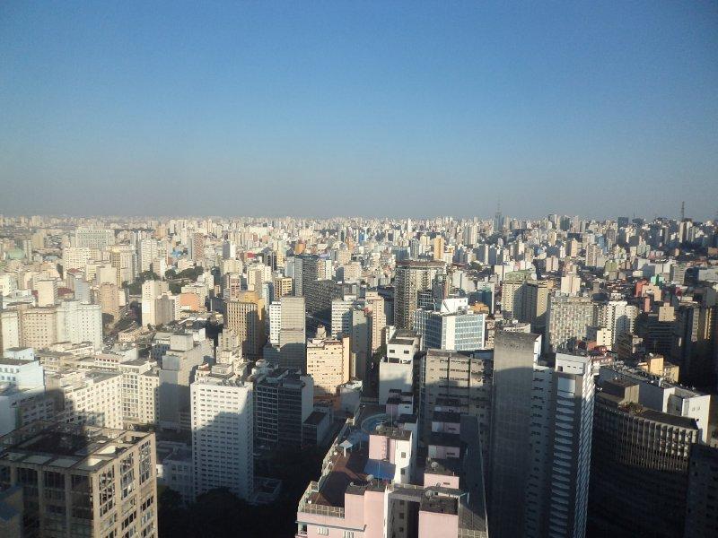 Sao Paulo - View from Edifico Italiano building (2)