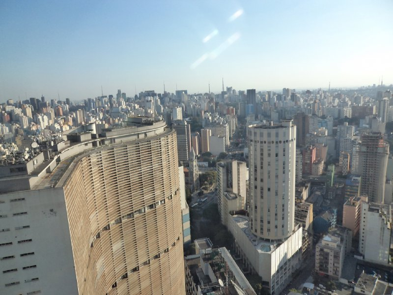 Sao Paulo - View from Edifico Italiano building (3)
