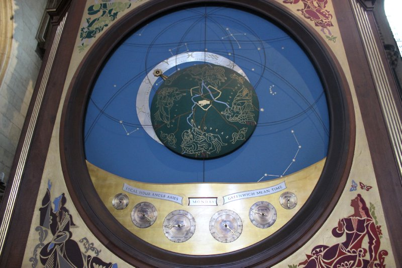 Astronomical Clock at York Minster