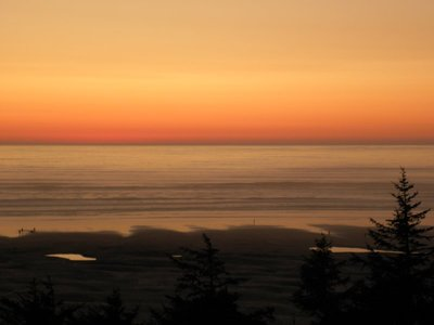 An Oregon Coast Evening Sunset