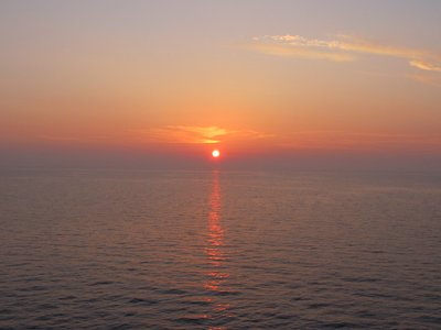 Sunset on the Adriatic