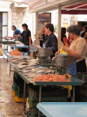 Fish market ladies