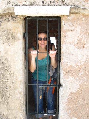 Nate locked me in jail
