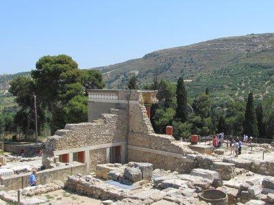 More ruins at Knossos