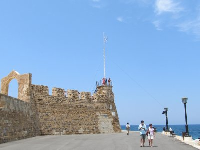 Old Venetian fort in Chania