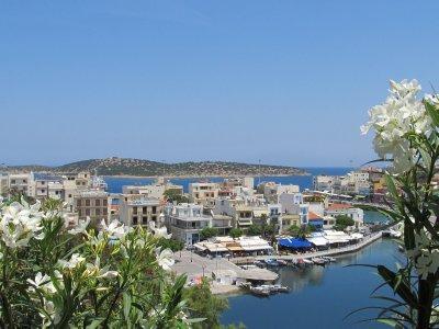Harbor town of Agios Nickolaus