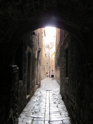Split town walls