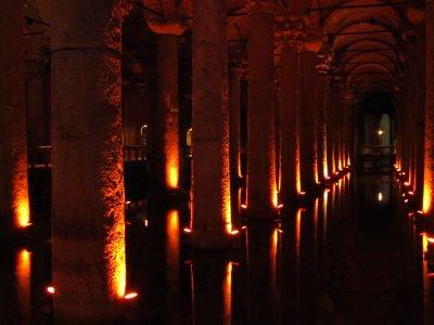 Undeground Basilica Cistern