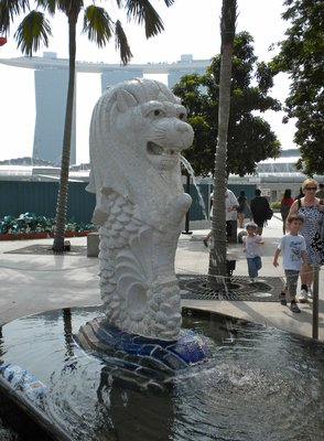 Singapore's Mythical Animal Mascot The Merlion
