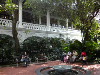 Raffels Hotel, Home of The Very expensive Singapore Sling