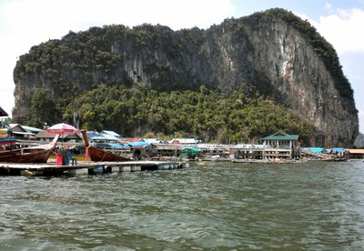 A Muslim Stilt Village in Pang Nga Bay