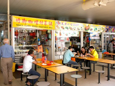 The Chinatown Food Hawker center