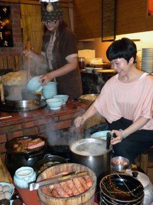 Food preparation, Tianan, Taiwan