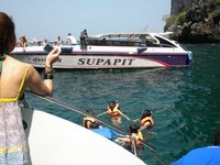 Snorkeling Thai style, it's all Karma
